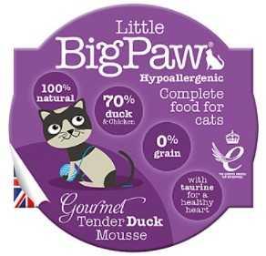 ליטל ביג פאו - מוס ברווז 85 גרם לחתול