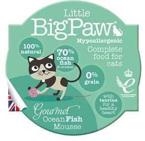 ליטל ביג פאו מוס - דגי אוקיינס 85 גרם לחתול