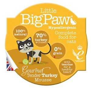ליטל ביג פאו - מוס הודו 85 גרם לחתול