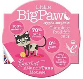 ליטל ביג פאו - מוס טונה 85 גרם לחתול