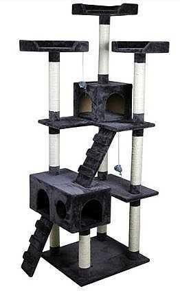 """מתקן גירוד לחתולים גובה 178 ס""""מ 80038"""