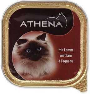 שימורים לחתול אתנה כבש 100 גר׳