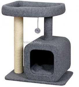 """פטקס מתקן גירוד לחתולים 2 קומות גובה 70 ס""""מ HY18314"""