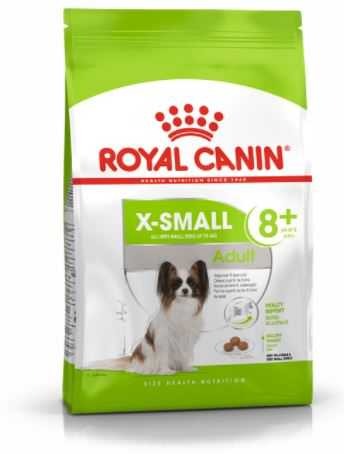"""רויאל קנין גזע זעיר אקסטרה סמול לכלב 8+ 1.5 ק""""ג"""