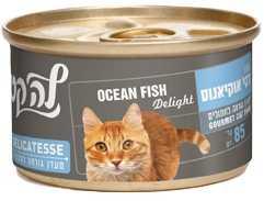 מעדן פטה לחתולים לה קט דגי אוקיינוס 85 גר'