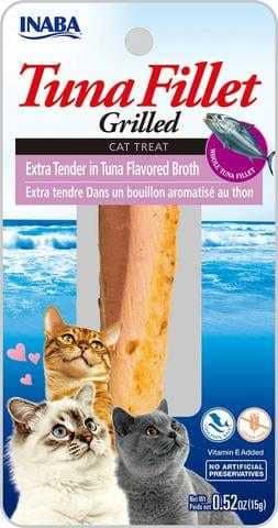 אינאבה פילה טונה לחתול ברוטב טונה 15 גר'