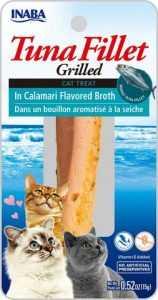 אינאבה פילה טונה לחתול ברוטב קלמארי 15 גר'