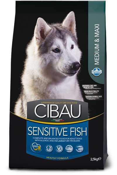 """סיבאו סנסטיב דגים לכלב 12 ק""""ג"""