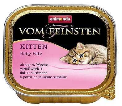 שימור גורים לחתול אנימונדה קרני בייבי פטה 100 גר'
