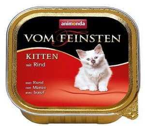 שימור גורים לחתול אנימונדה פטה בקר 100 גר'