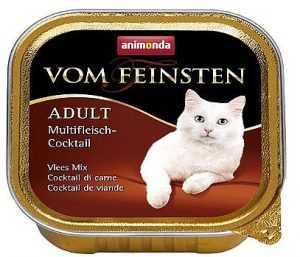 שימור פטה לחתול אנימונדה קוקטייל מולטי מיט 100 גר'