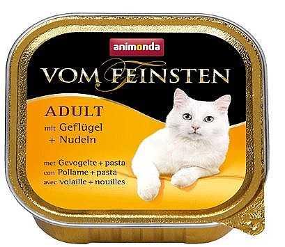 שימור פטה לחתול אנימונדה עוף ואטריות 100 גר'