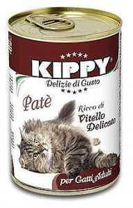 שימור לחתול קיפי עגל 400 גר'