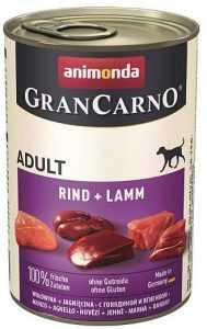 שימור לכלב אנימונדה גרנקארנו בקר וכבש 400 גר'