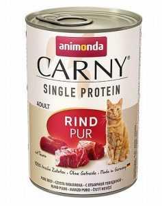 שימור לחתול אנימונדה קרני בקר טהור 400 גר'