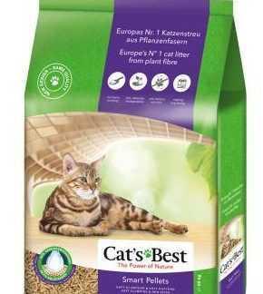 """מצע שבבי עץ לחתולים קט בסט סגול 5 ק""""ג"""