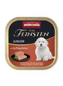 מעדן פטה לגורי כלבים אנימונדה כבד עוף 150 גר'