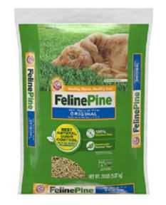 """מצע שבבי עץ אורן לחתול ארם אנד המר פלין פיין 9 ק""""ג"""