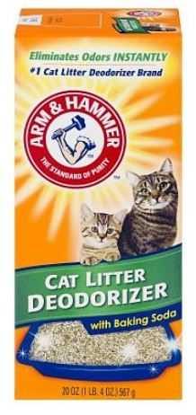 אבקה לנטרול ריחות לחול חתולים ארם אנד המר 567 גר'