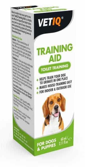 """נוזל אילוף עשיית צרכים לכלב VET-IQ בנפח 60 מ""""ל"""