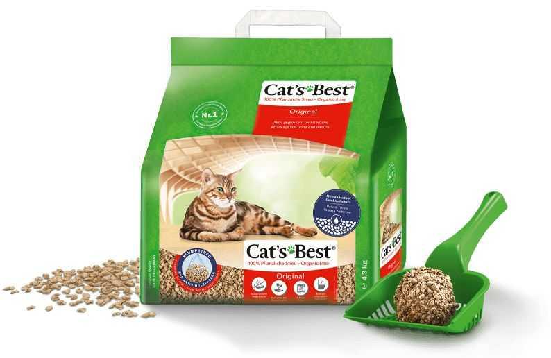 """חול מתגבש לחתול מעץ קט בסט אדום 2.2 ק""""ג"""