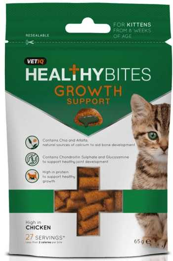 חטיף לגורי חתולים לעידוד גדילה והתפתחות 65 גר' VET-IQ