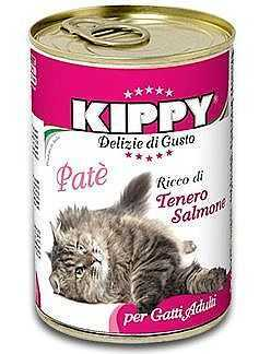 שימור לחתול קיפי סלמון 400 גר'