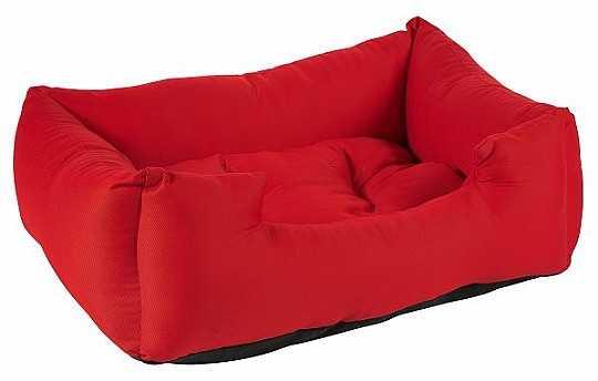 מיטה לכלב אדום כותנה