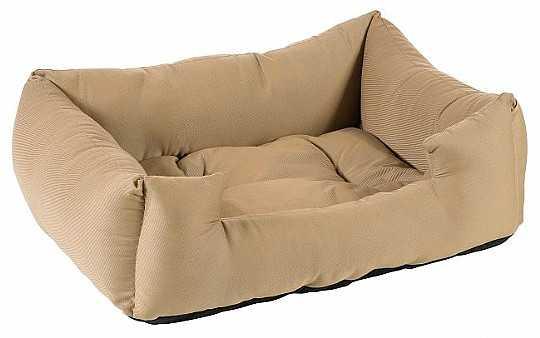 מיטה לכלב בז' כותנה
