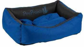 מיטה לכלב דוחה נוזלים כחול שחור