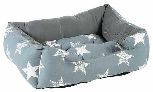 מיטה לכלב כוכבים גדולים כותנה