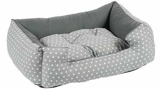 מיטה לכלב כותנה כוכבים קטנים