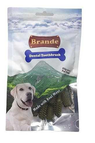 ברנד מברשות שיניים דנטלי חטיף לכלב 80 גר'