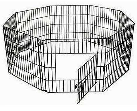 """גדר רשת לאילוף גור כלבים קטן 61 ס""""מ"""